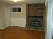 Don't miss this basement apartment,  this is a must see!